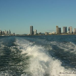 Reise Hunter Australien Surfers Pardise Wasserfront Boot