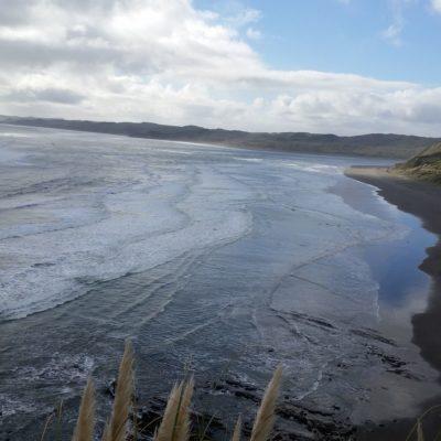 Reise Hunter Neuseeland Nordinsel Raglan Strand View