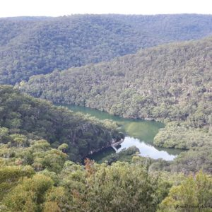 Reise Hunter Australien Ku-ring-gai Chase National Park Aussicht