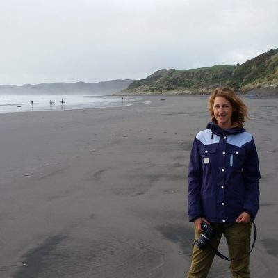 Reise Hunter Neuseeland Nordinsel Raglan Strand J