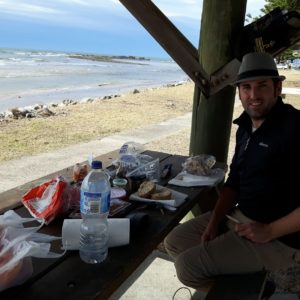 Reise Hunter Australien Port Macquarie Lunch
