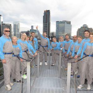 Reise Hunter Australien Brisbane Brückenbeteigung Gruppe2