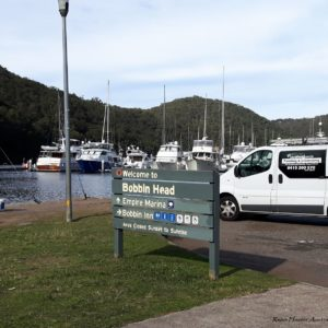 Reise Hunter Australien Bobin Head Habour2