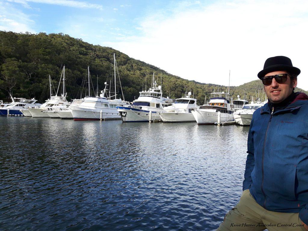 Reise Hunter Australien Bobin Head Habour