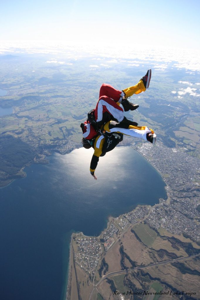 Reise Hunter Neuseeland Taupo Skydiving3