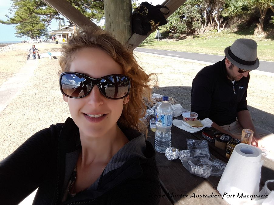 Reise Hunter Australien Lunch Picknick