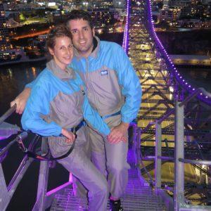 Reise Hunter Australien Brisbane Brückenbeteigung2
