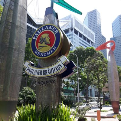 Reise Hunter Singapur Paulaner round the world
