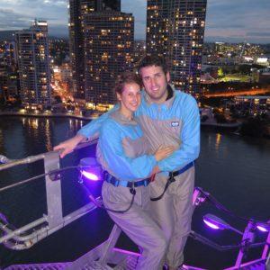 Reise Hunter Australien Brisbane Brückenbeteigung