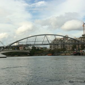 Reise Hunter Australien Brisbane Brücke