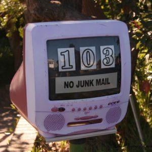 Reise Hunter Australien 5 Lands Walk Briefkasten