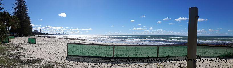 Reise Hunter Australien Strand Mittagspause 2