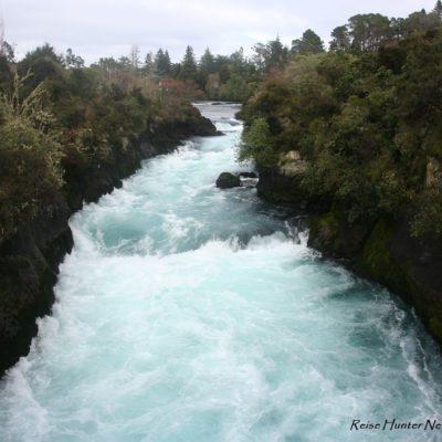 Reise Hunter Neuseeland Huka Falls 5