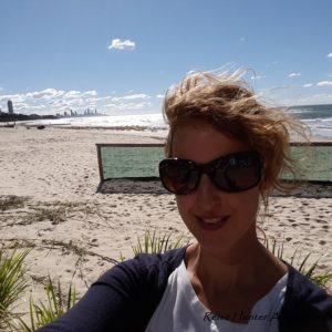 Reise Hunter Australien Strand Judith