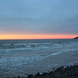 Reise Hunter Australien Byron Bay Sonne geht unter4