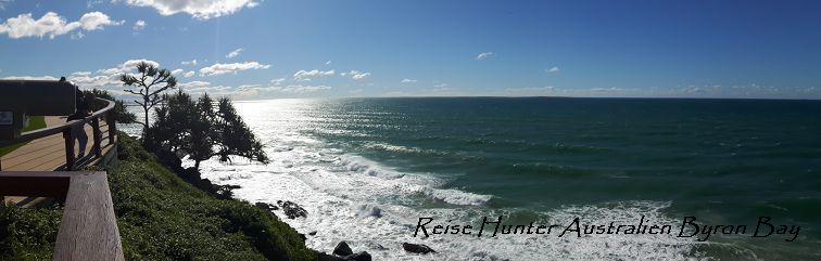 Reise Hunter Australien Küstenblick