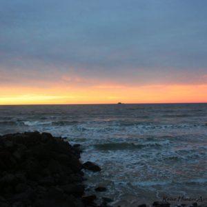 Reise Hunter Australien Byron Bay Sonne geht unter3