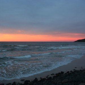 Reise Hunter Australien Byron Bay Sonne geht unter2
