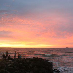 Reise Hunter Australien Byron Bay Sonne geht unter
