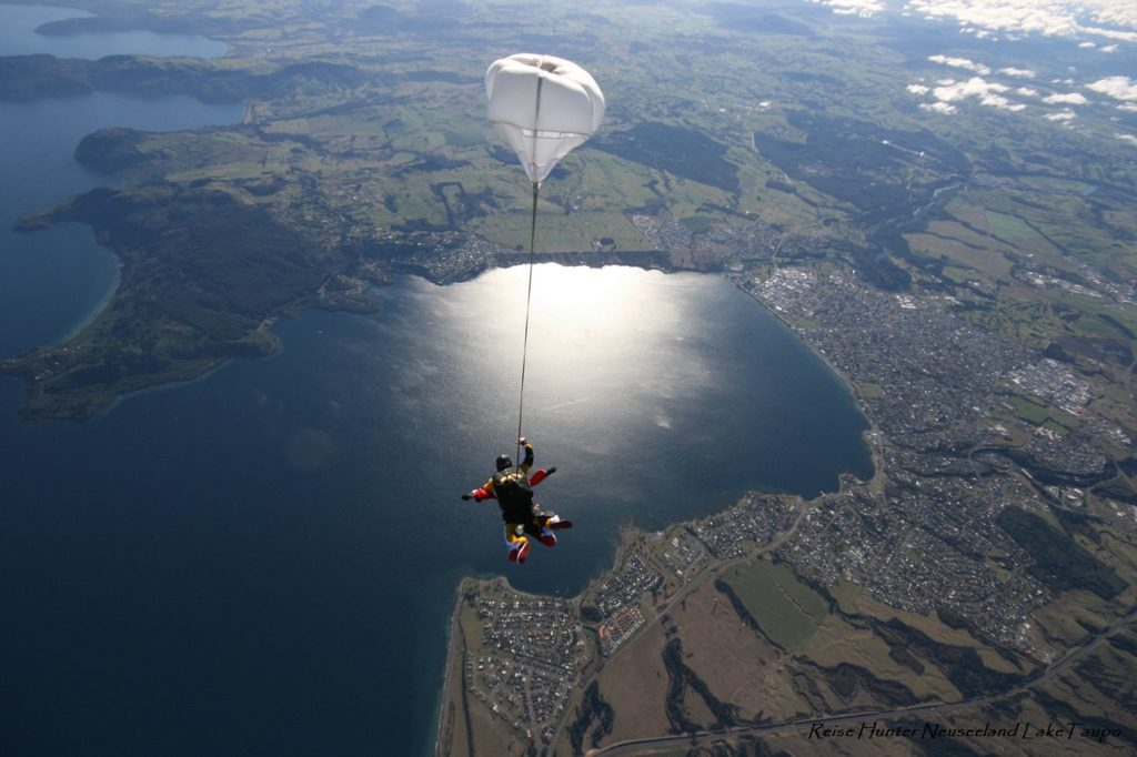 Reise Hunter Neuseeland Taupo Skydiving4