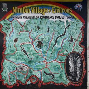 Reise Hunter Australien Nimbim Karte