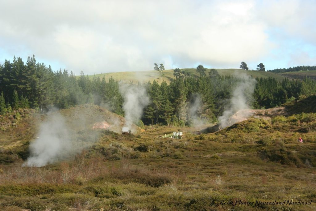 Reise Hunter Neuseeland Craters of the Moon