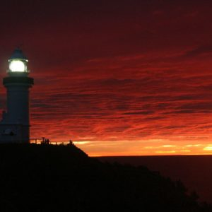 Reise Hunter Australien Byron Bay Leuchtturm am Morgen2