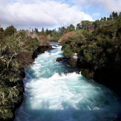 Reise Hunter Neuseeland Huka Falls