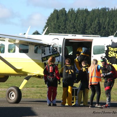 Reise Hunter Neuseeland Taupo Skydiving2