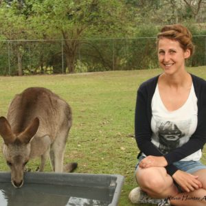 Reise Hunter Australien Lone Pine Kängurus1