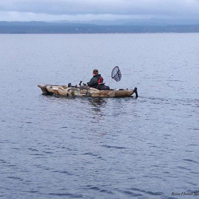 Reise Hunter Neuseeland Lake Taupo Bootsfahrt