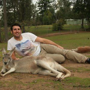 Reise Hunter Australien Lone Pine Kängurus2