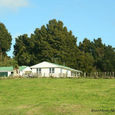 Reise Hunter Neuseeland Nordinsel Häuser