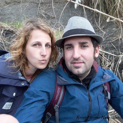 Reise Hunter Neuseeland Nordinsel Raglan Strand J+D
