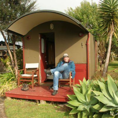 Reise Hunter Neuseeland Raglan Camping