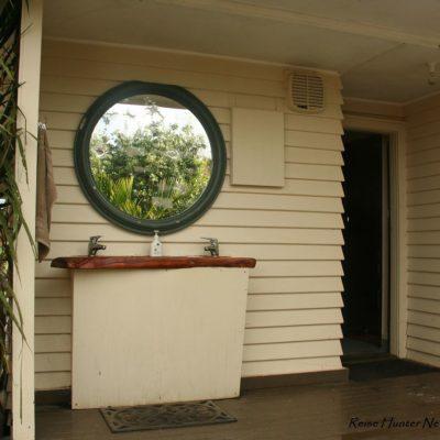 Reise Hunter Neuseeland Raglan Camping Waschen