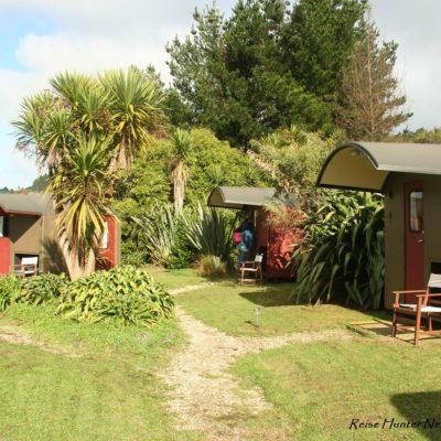 Reise Hunter Neuseeland Nordinsel Raglan Camping