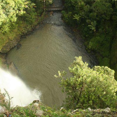 Reise Hunter Neuseeland BridalFallsoben