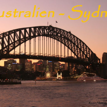 Australien – Reise Hunter meet Sydney