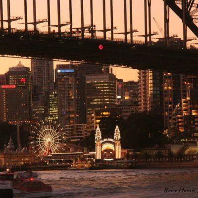 Reise Hunter Australien Sydney Freizeitpark