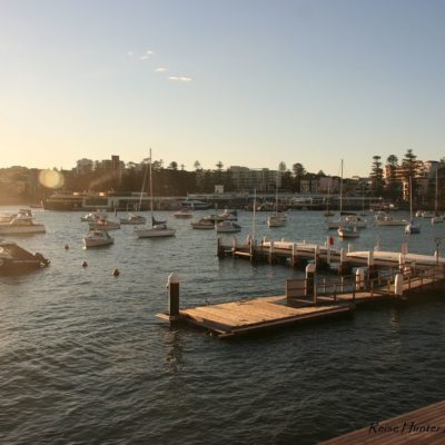 Reise Hunter Australien Sydney Hafen