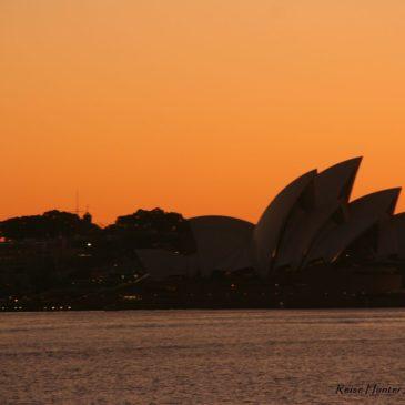Australien: Wir mit 4,6 Mio. Aussies in Sydney