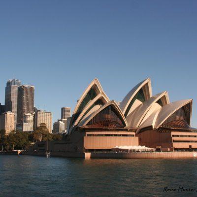 Reise Hunter Australien Sydney Oper Tag
