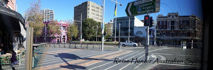 Reise Hunter Australien Sydney Straße