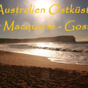 Australien – dem Winter entgegen gen Süden
