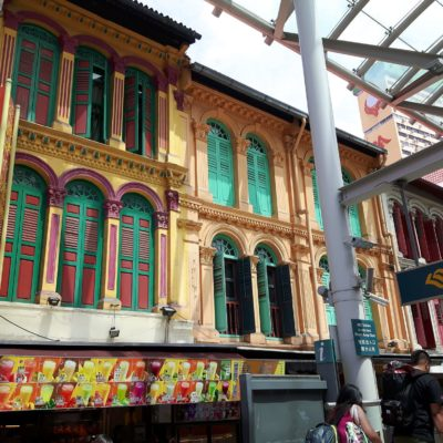 Reise Hunter Singapur China Town Haus