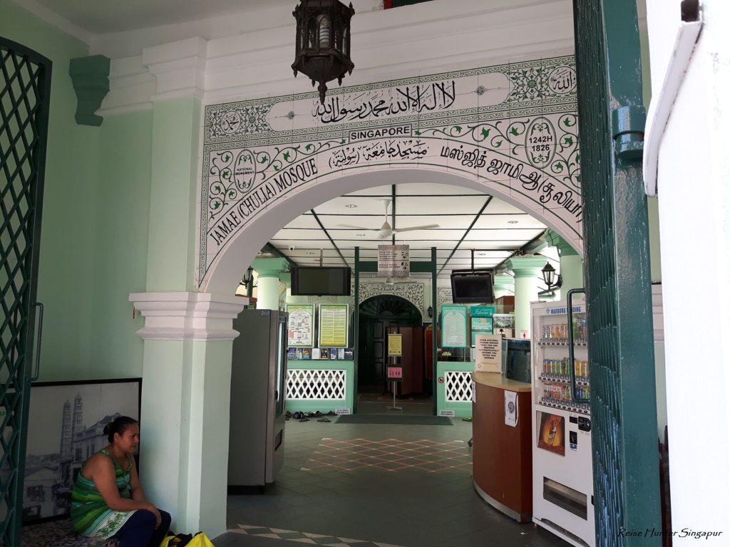 Reise Hunter Singapur China Town Moschee