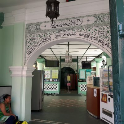 Reise Hunter Singapur China Town Moschee