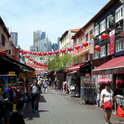 Reise Hunter Singapur China Town Straßen 2