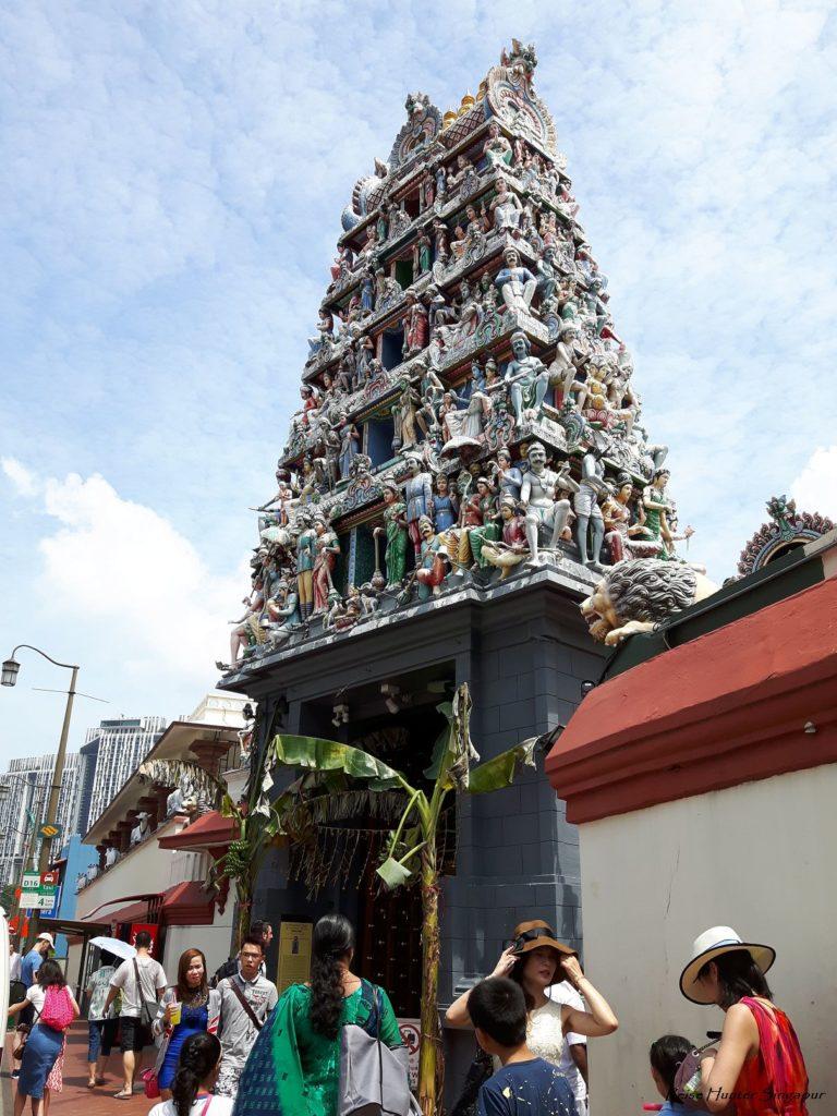 Reise Hunter Singapur China Town Tempel Eingang 3